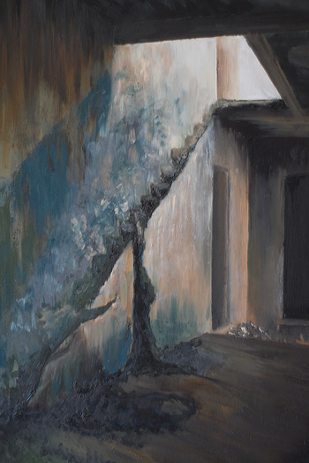 angel island doorway painting