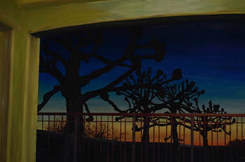 kroeber sunset painting